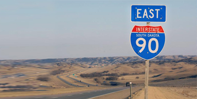 Interstate 90 South Dakota