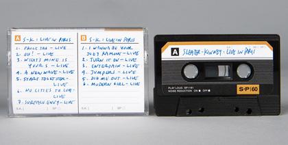 sleater-kinney cassette tape